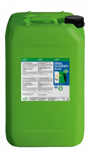 Viral Cleaner Acryl 20 l jerrycan